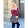 Mandy Lightweight Sweater - Sayre's Eden Boutique