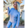Blue Bubble Sweater