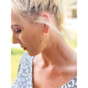 Pendant Earrings - Sayre's Eden Boutique