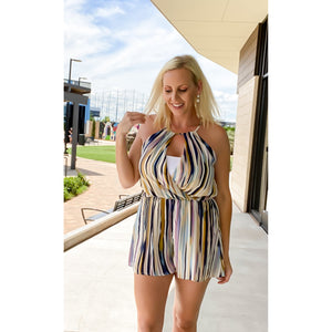 Cocktail Romper - Sayre's Eden Boutique