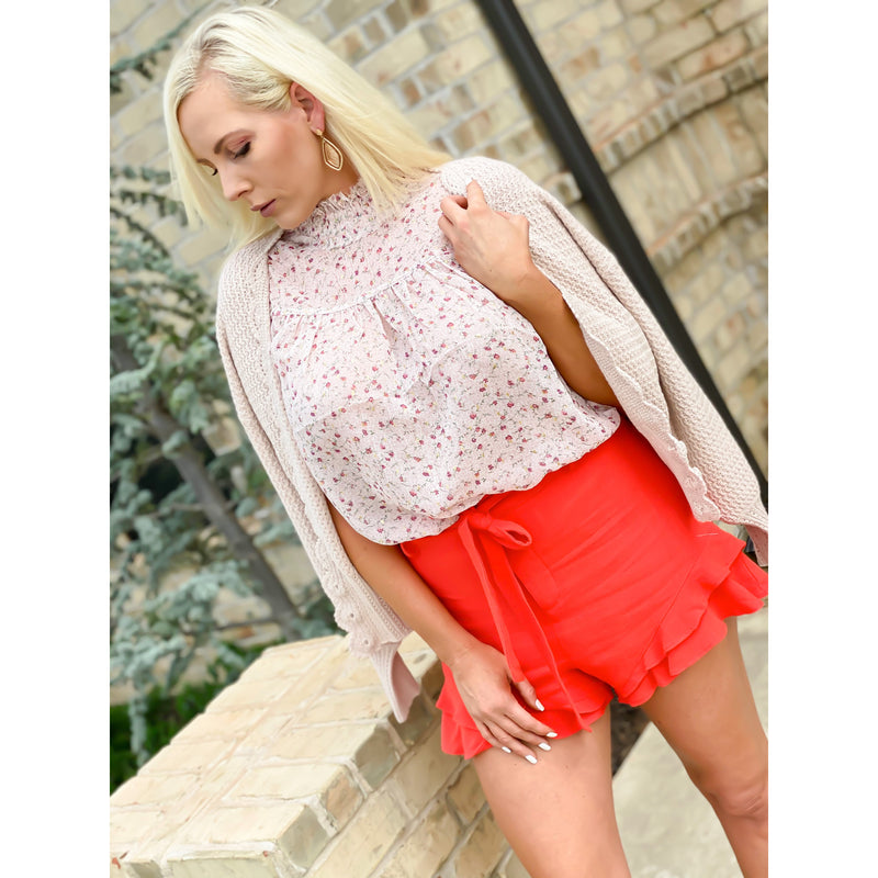 Double Ruffle Shorts - Sayre's Eden Boutique