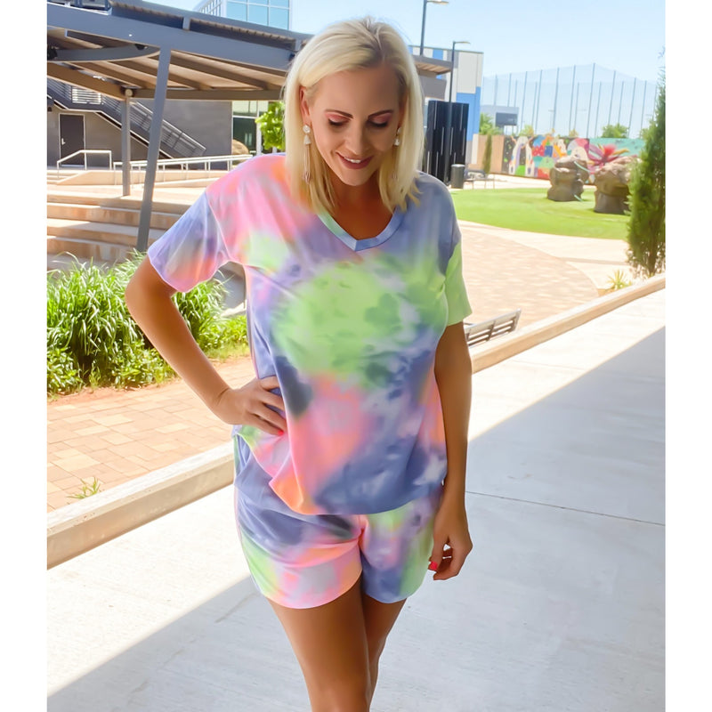 Tie dye set - Sayre's Eden Boutique