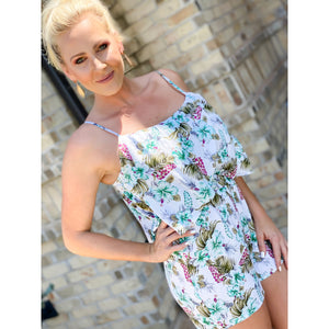 Tropical Nights Romper - Sayre's Eden Boutique