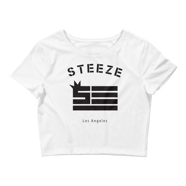 Steeze Flag Women's Crop Tee