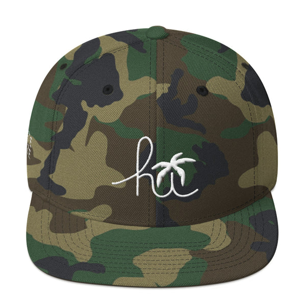 Hawaii Hi-Life 3D embroidery Snapback Hat