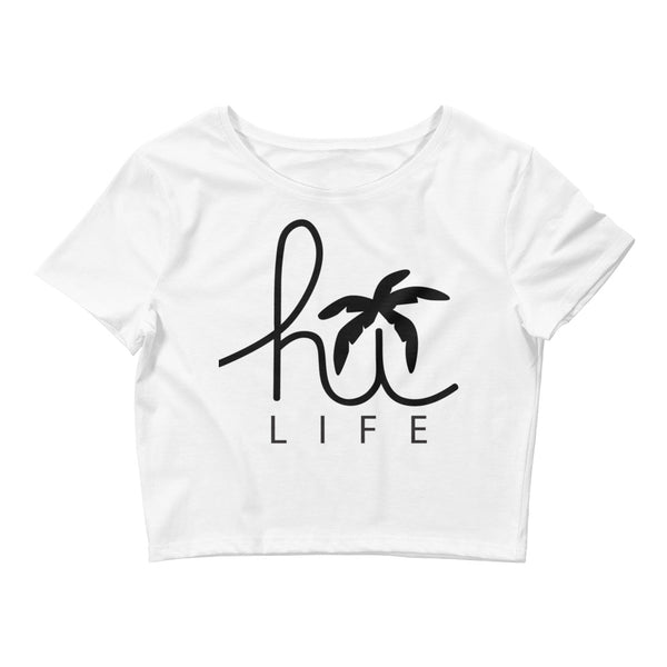 Hawaii Hi -Life Women's Crop Tee