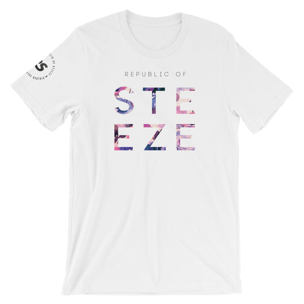 Floral Block Steeze T-Shirt - Unisex