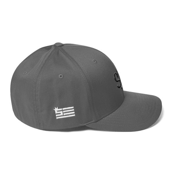 Steezy! 3D Embroidery Structured FlexFit Twill Cap