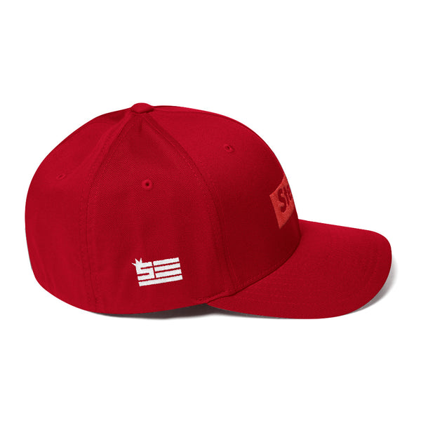 Steeze Candy Bar - Structured Twill FlexFit Cap