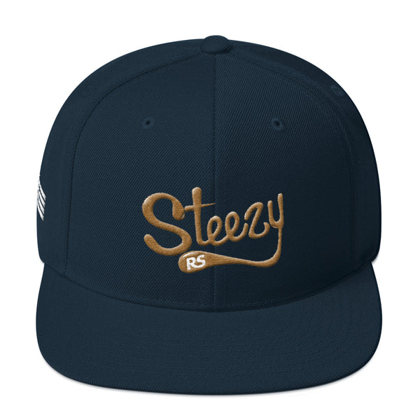 Steezy! 3D Embroidery Snapback Hat