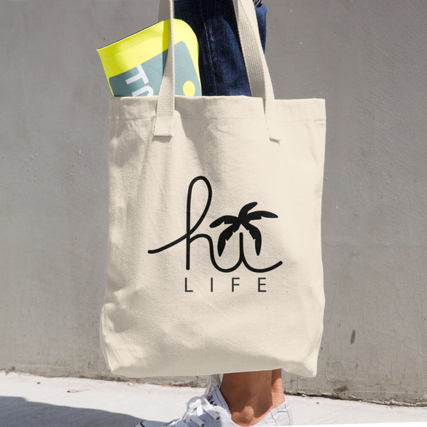 Hi-Life Hawaii - Cotton Tote Bag