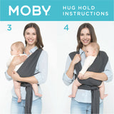 Moby Classic Wrap - Heathered Grey
