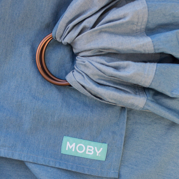 Moby Ring Sling - Chambray