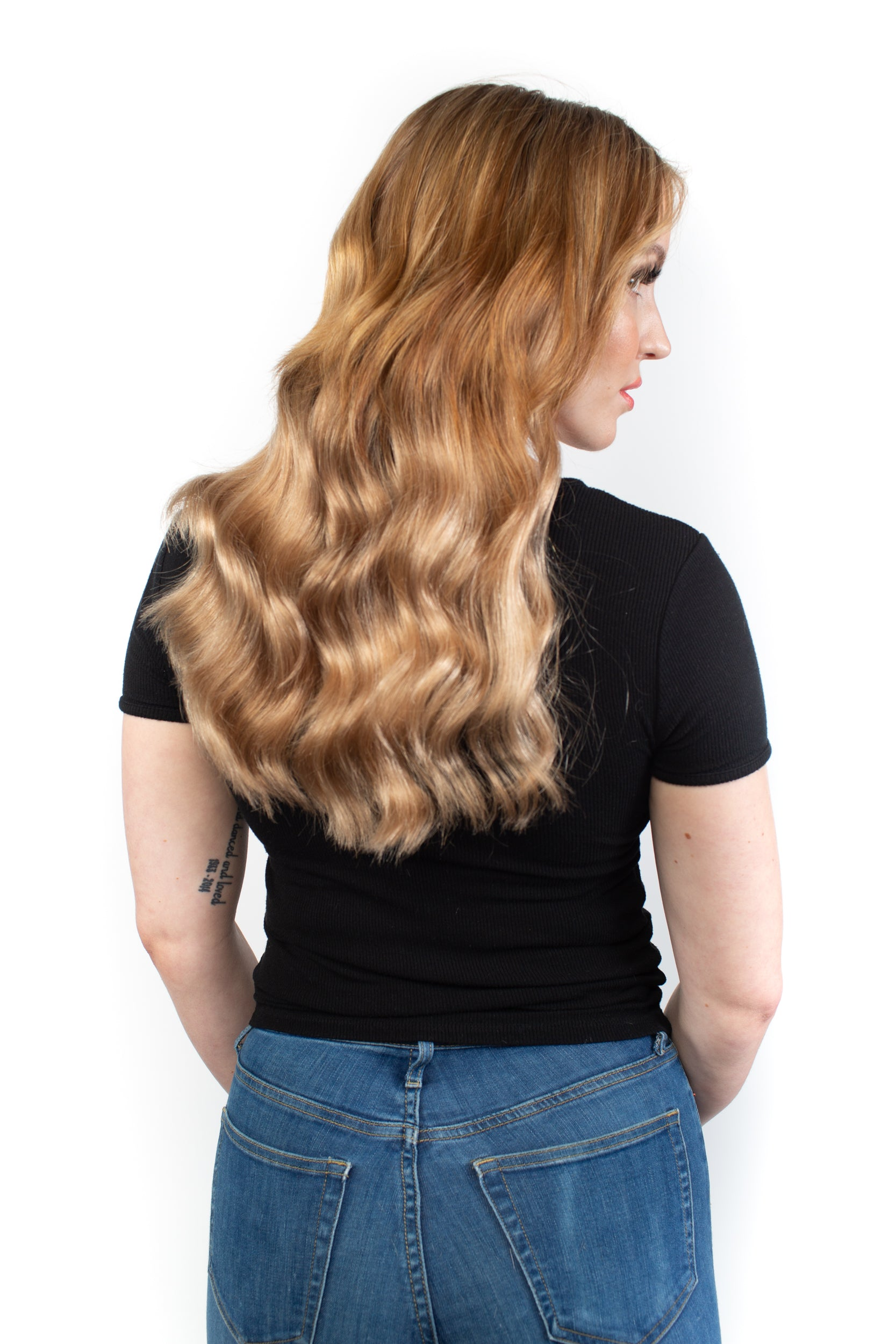 "14"" Light Brown Clip-In Hair Extensions"