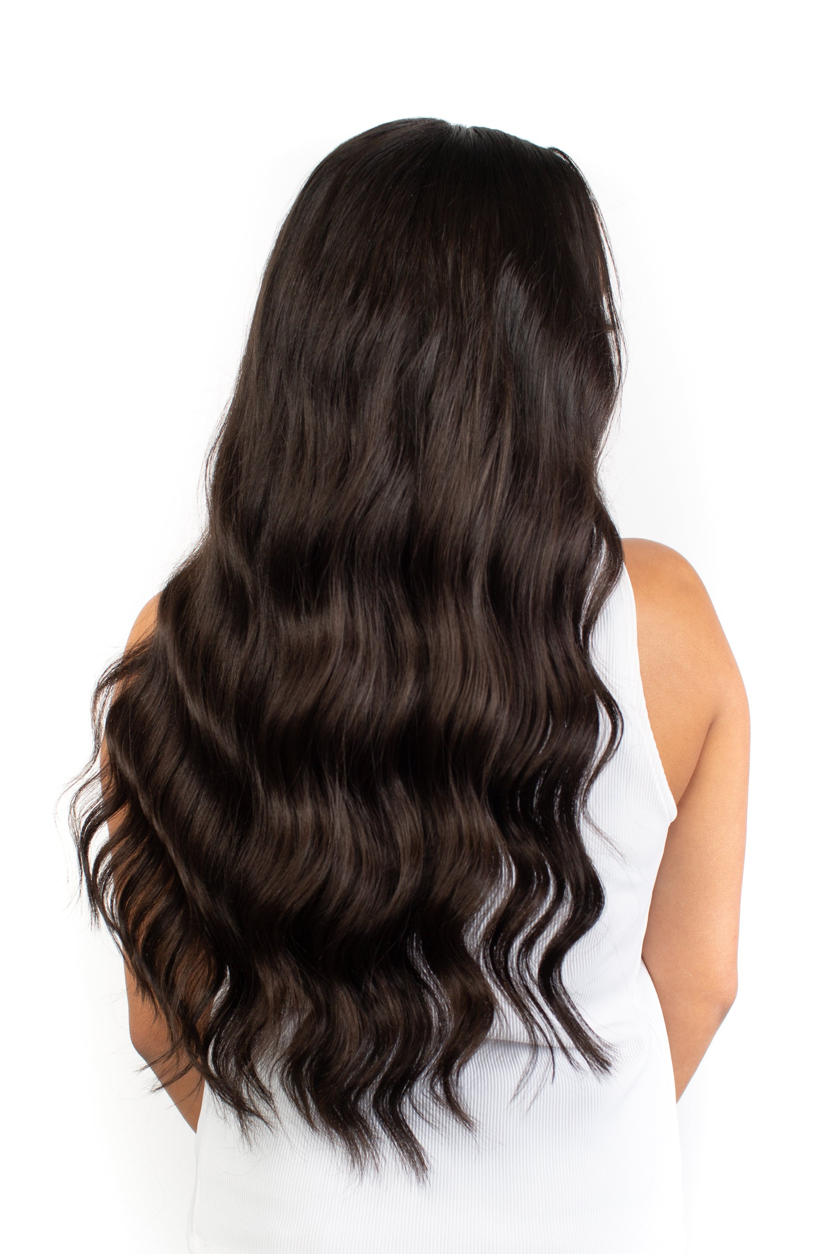 Brunette Clip-In Hair Extensions – Midnight Mood