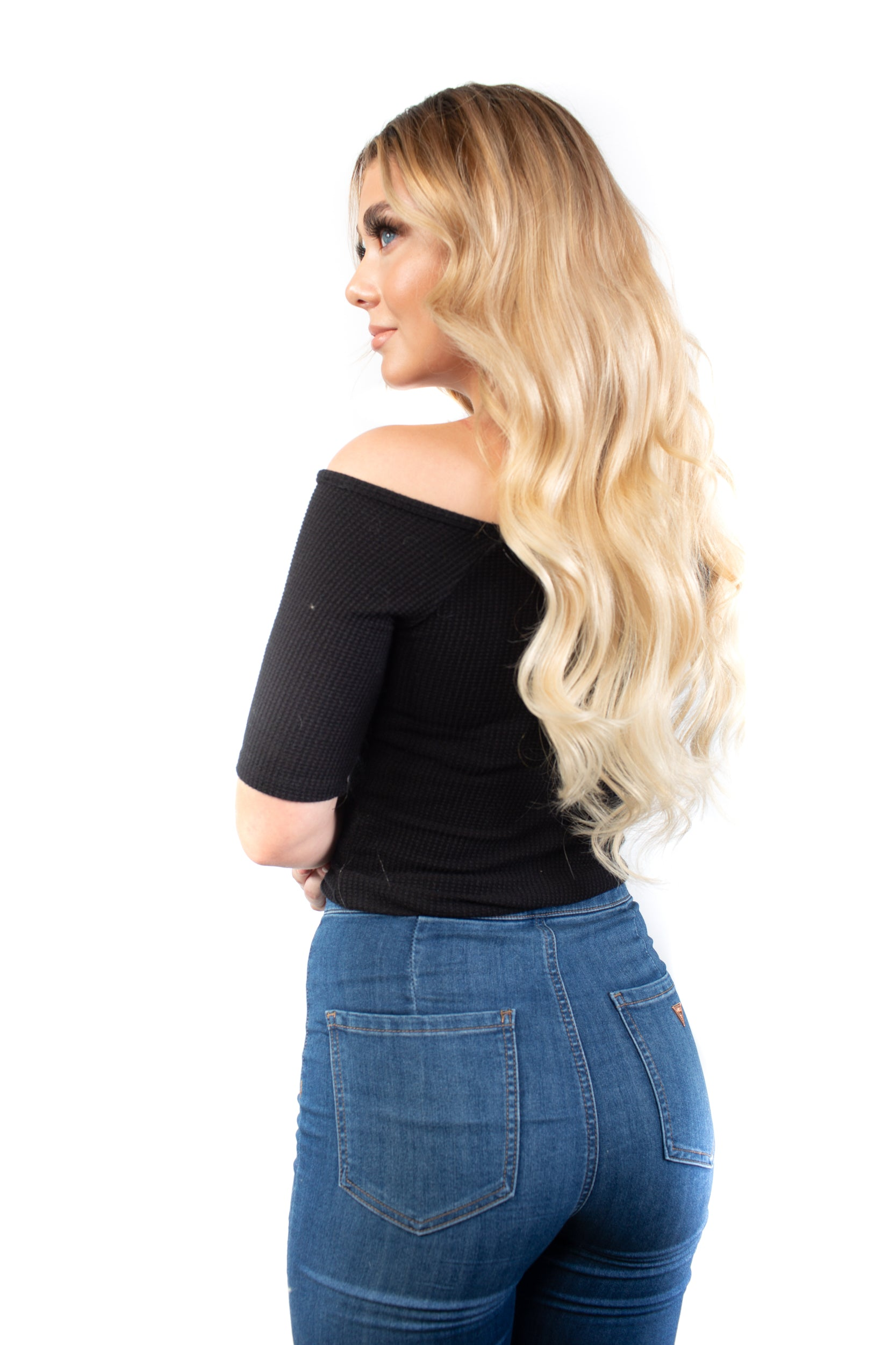Clip-in hair extensions – Golden key