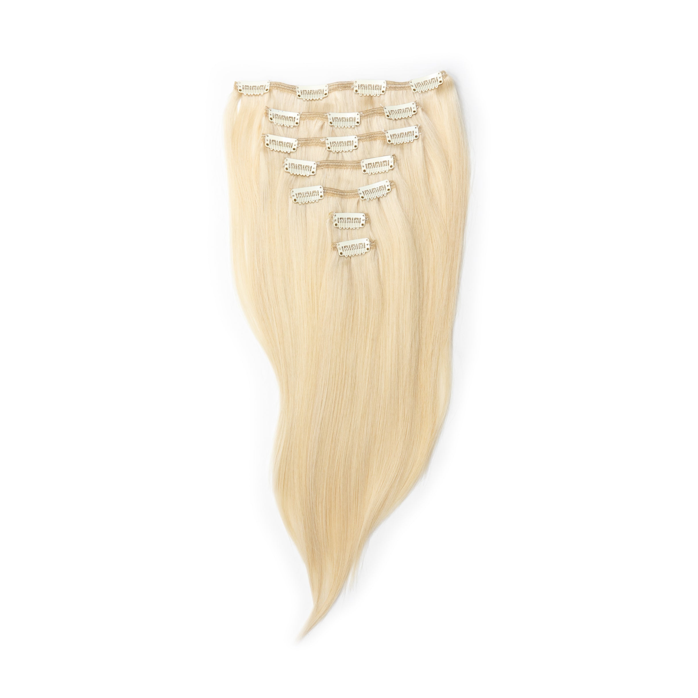 Blonde Clip-In Extensions – Livin' the dream!