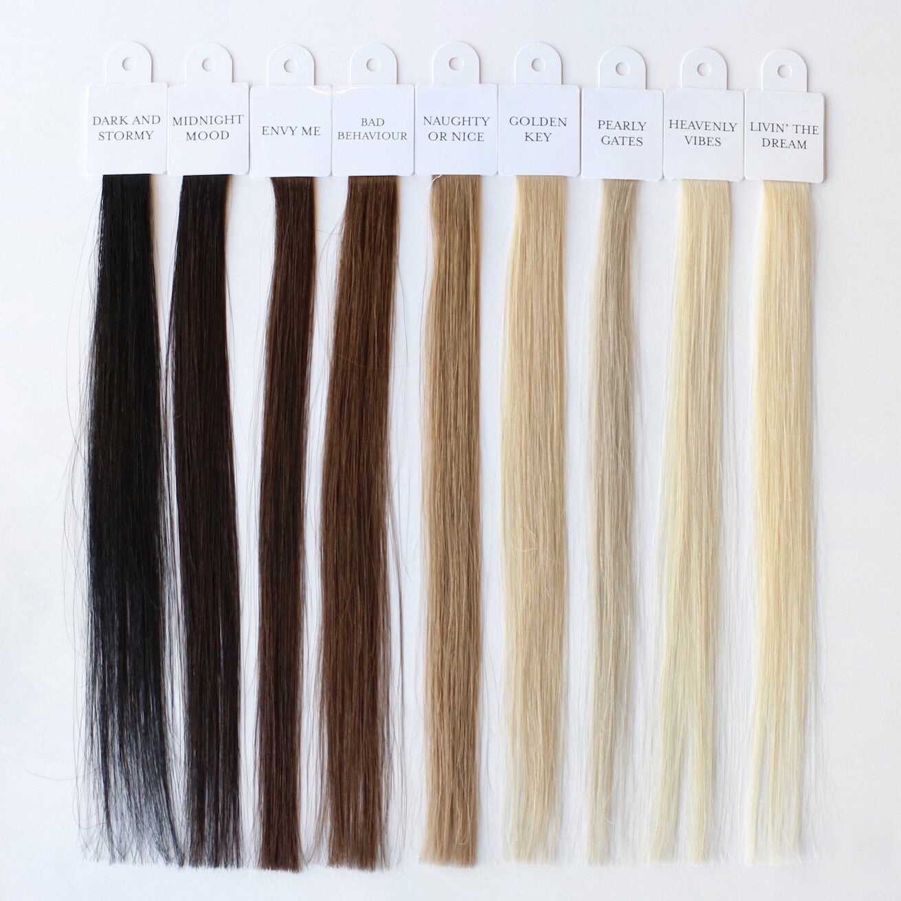Hair Tools – Colour Swatch