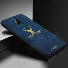 Load image into Gallery viewer, OnePlus 6T Luxury Gold Textured Deer Pattern Soft Case