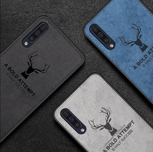 Load image into Gallery viewer, Galaxy A70 Deer Pattern Inspirational Soft Case