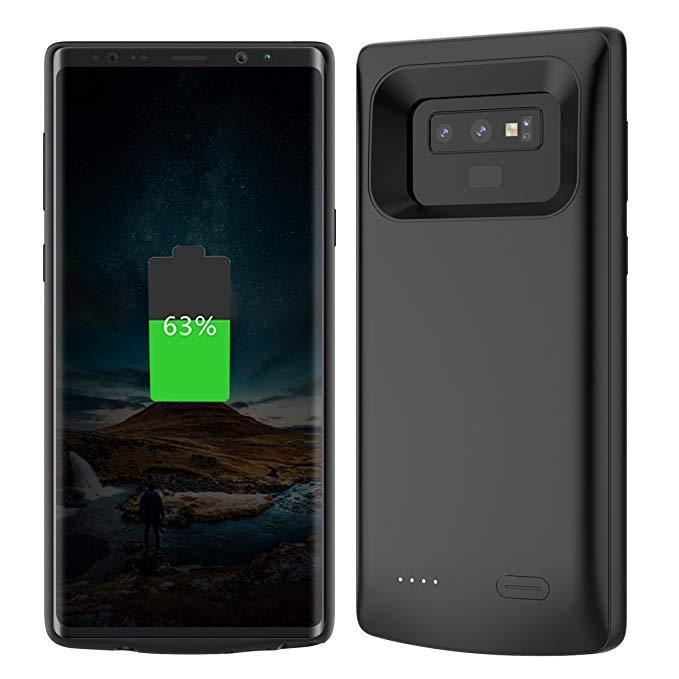 JLW® Galaxy Note 9 Portable 6000 mAh Battery Shell Case