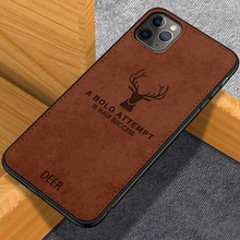 Load image into Gallery viewer, iPhone 11 Series Deer Pattern Inspirational Soft Case