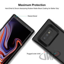 Load image into Gallery viewer, JLW® Galaxy Note 9 Portable 6000 mAh Battery Shell Case