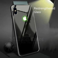 Load image into Gallery viewer, iPhone XS Max Radium Glow Light Illuminated Logo 3D Case