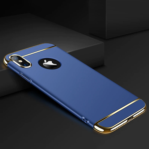 iPhone XS Max Luxury Electroplating Matte Case