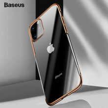 Load image into Gallery viewer, Baseus ® iPhone 11 Pro Max Sparkling Edge Transparent Glitter Case