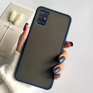 Galaxy A51 Luxury Shockproof Matte Finish Case