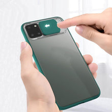 Load image into Gallery viewer, Galaxy Note 10 Lite Camera Lens Slide Protection Matte Case