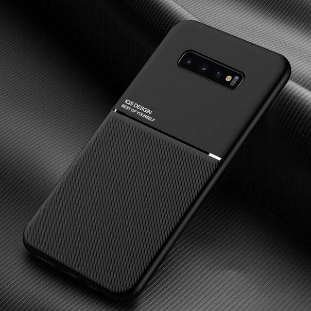 Galaxy S10 Carbon Fiber Twill Pattern Soft TPU Case