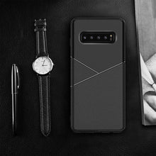 Load image into Gallery viewer, Galaxy S10 Business Leather Pattern TPU Soft Case