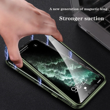 Load image into Gallery viewer, iPhone 11 (Front+Back) Protection Magnetic Fit Case