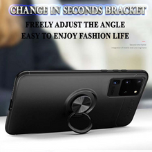 Load image into Gallery viewer, Galaxy S20 Metallic Ring Holder Matte Finish Case