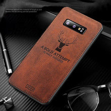 Load image into Gallery viewer, Galaxy S10 Deer Pattern Inspirational Soft Case