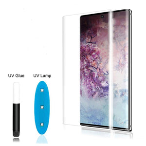 Galaxy Note 20 Full Liquid Glue UV Tempered Glass