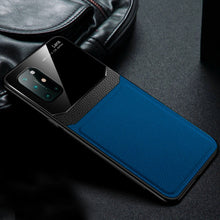 Load image into Gallery viewer, OnePlus 8T Sleek Slim Leather Glass Case