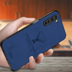 OnePlus Nord Printed Deer Pattern Fabric Case