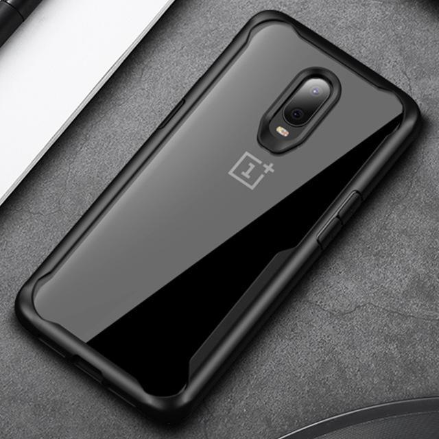 OnePlus 6T Transparent Soft TPU Protective Case