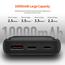 Load image into Gallery viewer, Rock Space  P65 Mini PD 10000 mAh Digital Display Powerbank