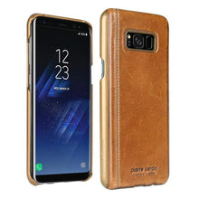 Load image into Gallery viewer, Galaxy S8 Plus Pierre Cardin Genuine Leather Case