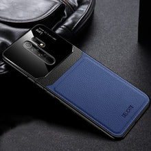 Load image into Gallery viewer, Redmi Note 8 Pro Sleek Slim Leather Glass Case