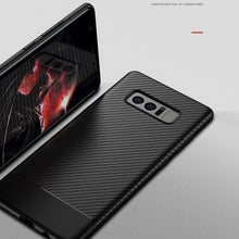Load image into Gallery viewer, Galaxy Note 8 Carbon Fiber Soft Silicone Case