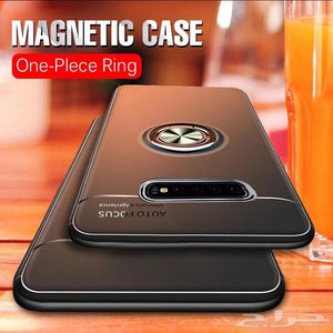 Samsung (3 in 1 Combo) Ring Case + Screen Protector + Lens Guard