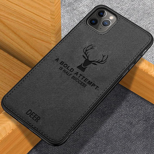 iPhone 11 Pro Deer Pattern Inspirational Soft Case