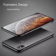 Load image into Gallery viewer, iPhone XR Luxury Frameless Transparent Case
