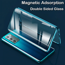 Load image into Gallery viewer, Galaxy Note 20 Ultra (Front+Back) Protection Magnetic Fit Case