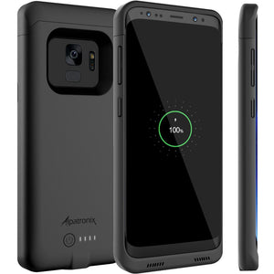 JLW® Galaxy S9 Plus Portable 5000 mAh Battery Shell Case